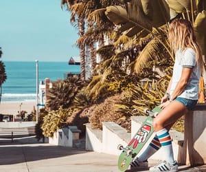 board, skate, and skateboarding image