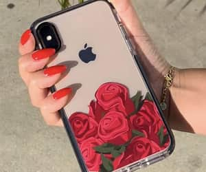 carefree, iphone, and rose image