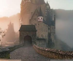 arquitectura, lugares, and niebla image