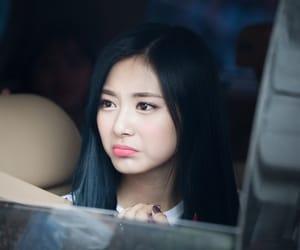JYP, jihyo, and chaeyoung image