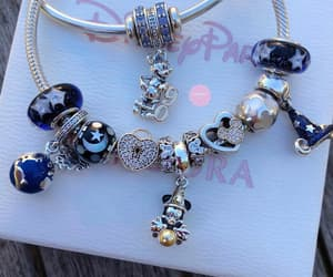 accessories, blue, and bracelet image