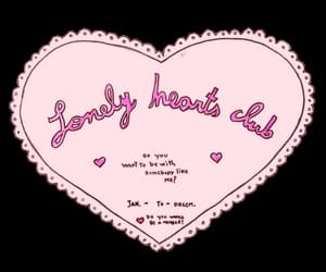 heart, lonely hearts club, and pink image