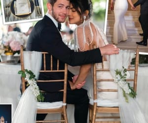 nick jonas, handsome, and priyanka chopra image