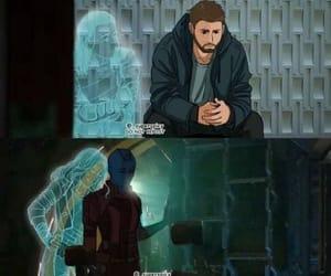 iron man, Marvel, and sad image