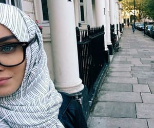 beautiful, hijab, and girl image