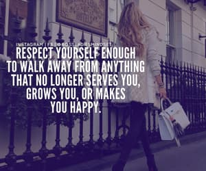 away, quote, and respect image