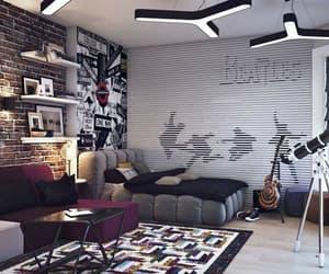 bed, bedroom, and boy bedroom image