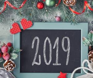 2019 and christmas image