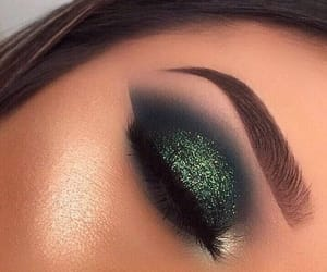 beauty, eyeshadow, and fashion image