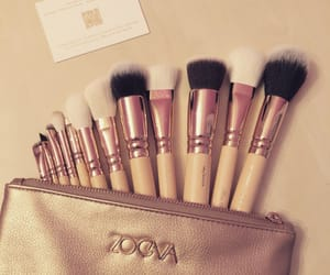 bag, rose gold, and beauty image