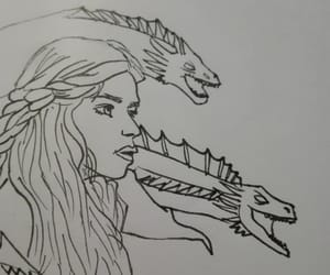 art, dragons, and fandom image