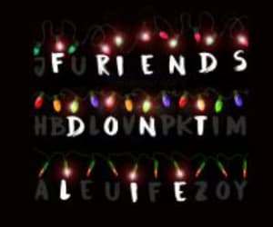 stranger things, friends, and eleven image