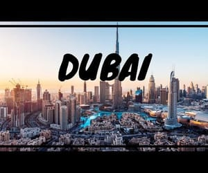Dubai, flight, and style image