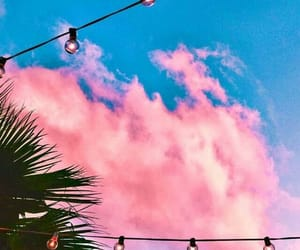 blue, aesthetic, and pink image