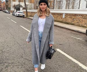 bag, chic, and coat image