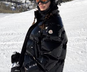 Skiing and camila morrone image