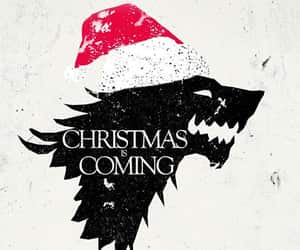 christmas, fandom, and game of thrones image