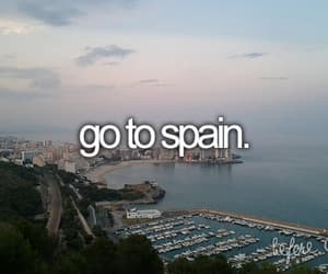 spain, travel, and before i die image