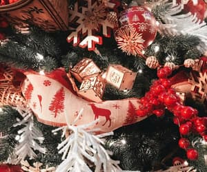 christmas, gifts, and decorations image