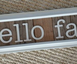 etsy, framed wood sign, and fall love image
