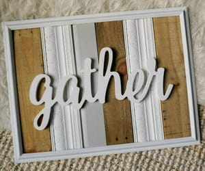 etsy, pallet wood sign, and farmhouse wood sign image