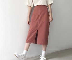 kfashion, long skirt, and vintage image
