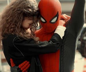 zendaya, spiderman, and tom holland image