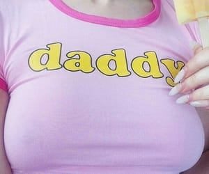 pink, daddy, and pale image
