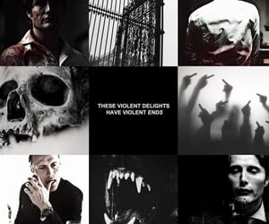 aesthetic, hannibal lecter, and cannibal image