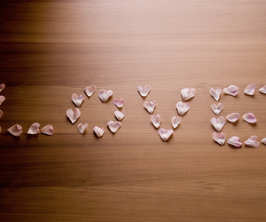 love, beautiful, and pink image