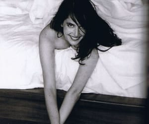 black and white and eva green image