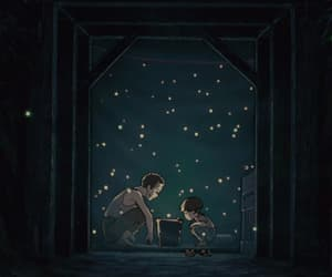 gif and grave of the fireflies image