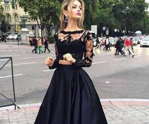 prom dresses, lace party dresses, and modest prom dress image