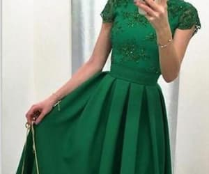 green homecoming dress, prom dress short, and prom dress backless image