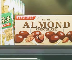 anime, chocolate, and commercial image