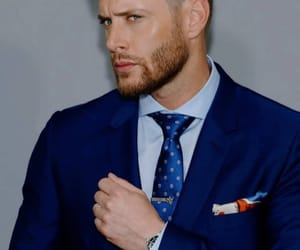 fashion, Jensen Ackles, and stubble image