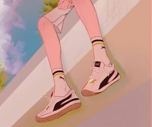 aesthetic, anime, and shoes image