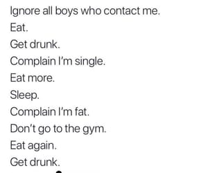 drunk, eat, and exercise image