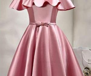a-line prom dresses, prom dresses pink, and lace prom dresses image