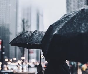 article, rainy day, and autumn image