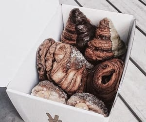 food, croissant, and sweet image
