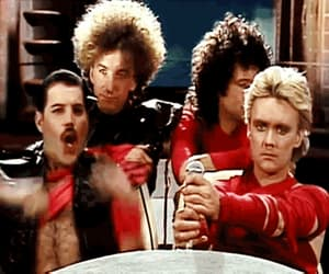 70's, Queen, and video image