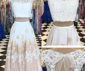 backless prom dresses, prom dresses a-line, and prom dresses two piece image
