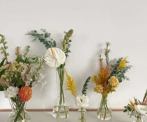 arrangements, florals, and hipster image