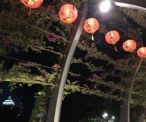 green, lights, and lanterns image