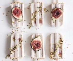 food, ice cream, and fruit image