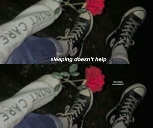 cry, heartbroken, and roses image