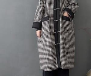 etsy, winter long coat, and long sleeve image