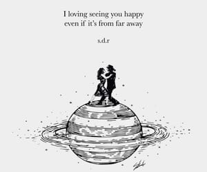 couple, happiness, and quotes image