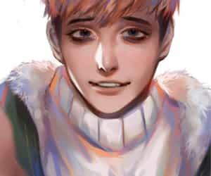 fanart, oh sangwoo, and killing stalking image